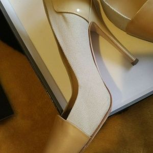 Giuseppe Zanotti Kalifa Leather Pump shoes Nude